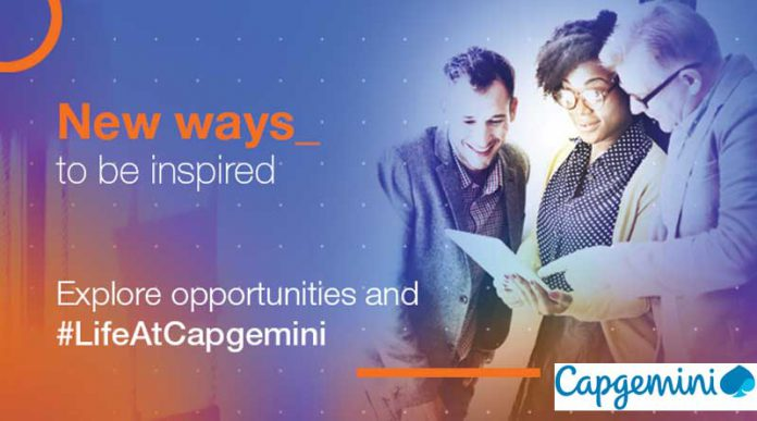 Job vacancies at Capgemini
