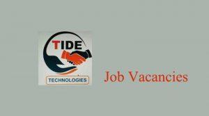 Tide technologies job vacancies
