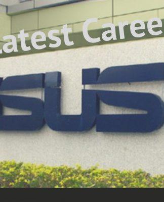 ASUS latest career details