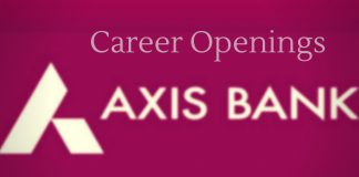 Axis bank latest vacancies