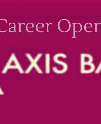 Axis bank latest vacancies