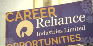 reliance latest vacancies india