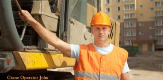 Crane operator job vacancies