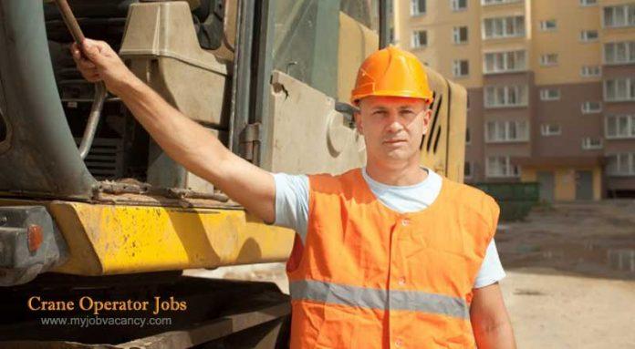 Crane operator job vacancies