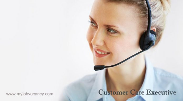 Customer care executive jobs