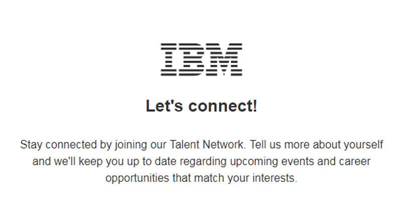 IBM latest job vacancies