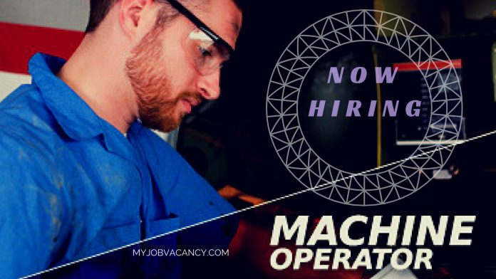 Machine operator jobs in US