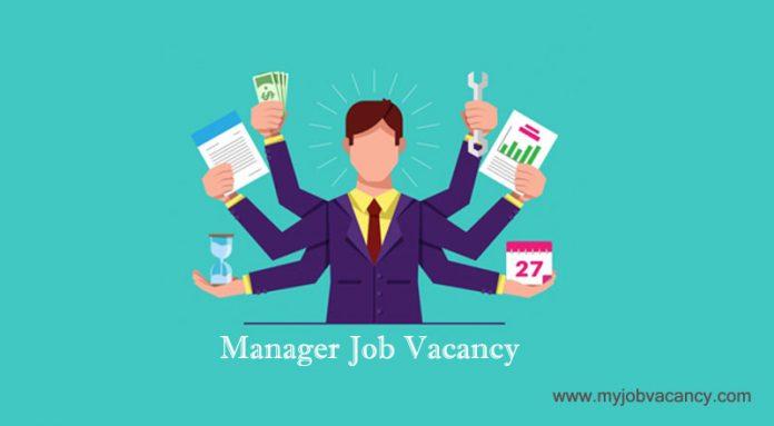 Manager jobs across world