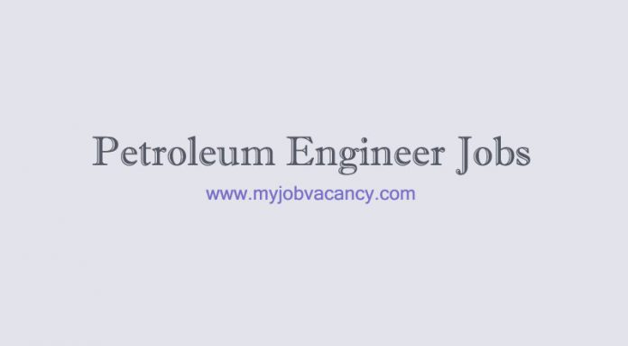 Petroleum engineer job openings