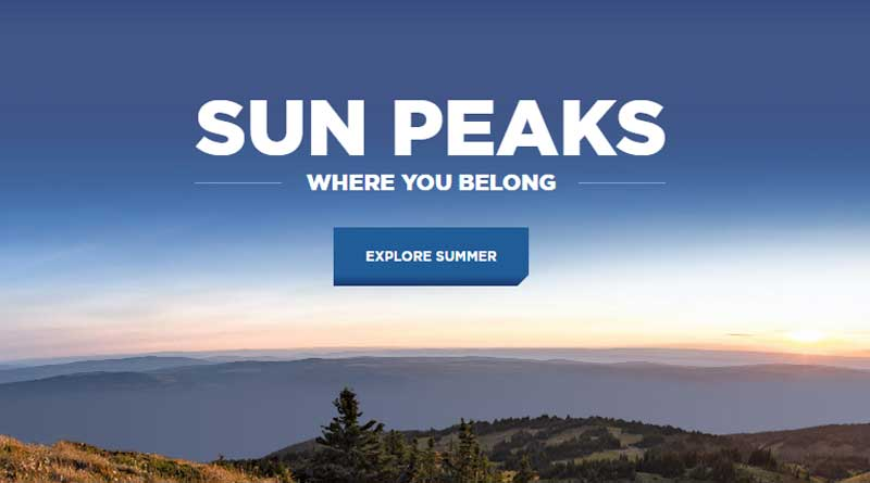 Sunpeaks job vacancy in Canada