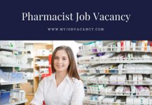 Pharmacist new job vacancies
