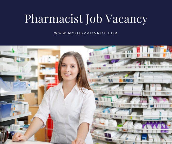 Pharmacist new job vacancies