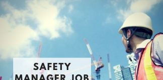 Safety manager job vacancies