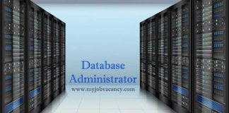 Database Administrator Job Vacancy