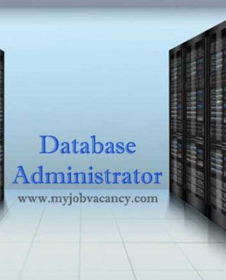 Database Administrator Job Vacancy