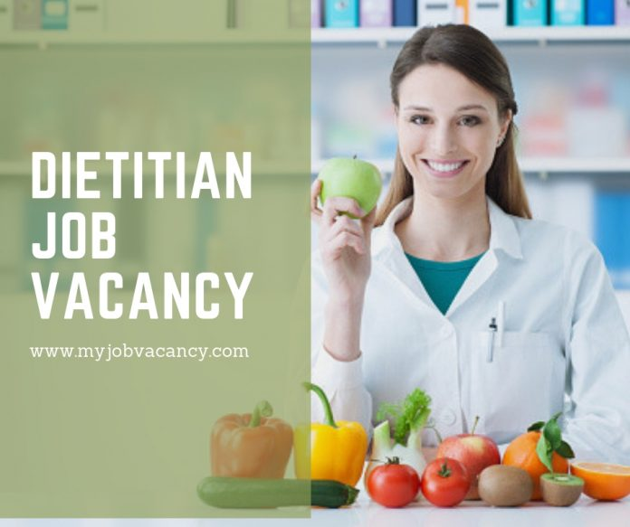 Dietitian latest job vacancies