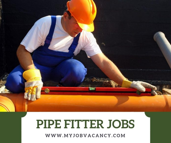 Pipe fitter job openings