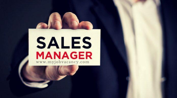 Sales Manager Job Vacancies