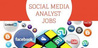 Social media analyst jobs