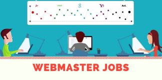 Latest webmaster job vacancies