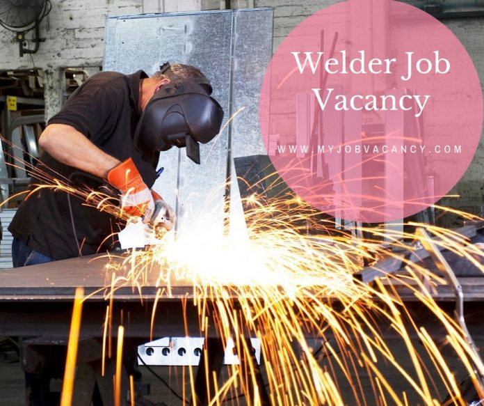 Welder new job openings