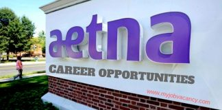 Aetna Job Vacancies