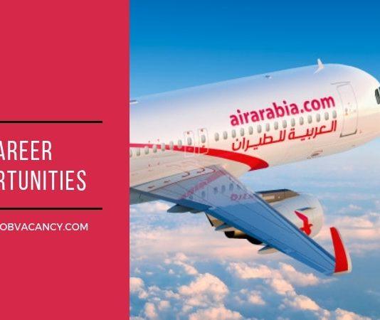 Air Arabia Job Vacancies