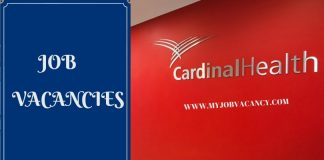 Cardinal Health Job Vacancy