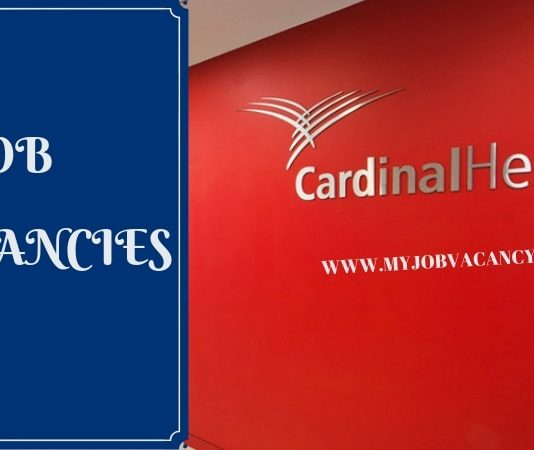 Cardinal Health Job Vacancy
