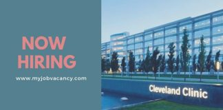 Cleveland Clinic Job Vacancies