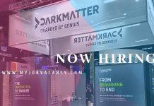 Darkmatter Latest Job Vacancies