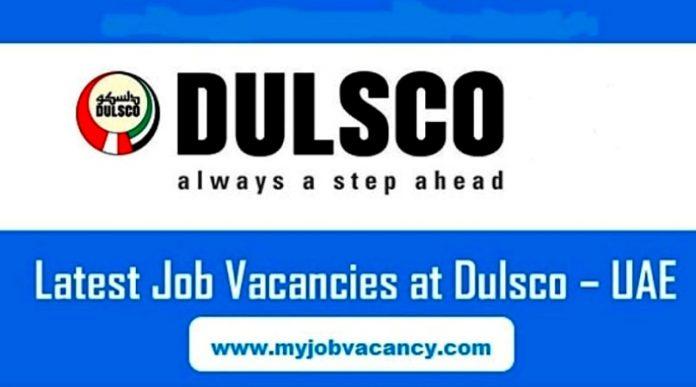 Dulsco UAE Job Vacancies