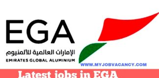 EGA UAE Job Vacancies