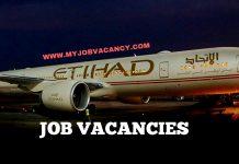Etihad Airways Job Vacancies