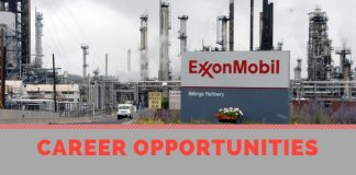 Exxonmobil Latest Job Vacancies