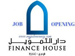 Finance House Job Openings