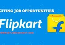 Flipkart Job Vacancies