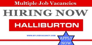 Halliburton Job Vacancies