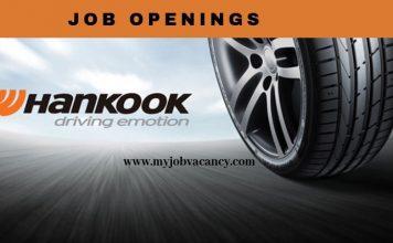 Hankook Tire Job Openings