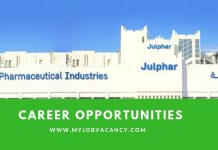 Julphar Latest Job Vacancies