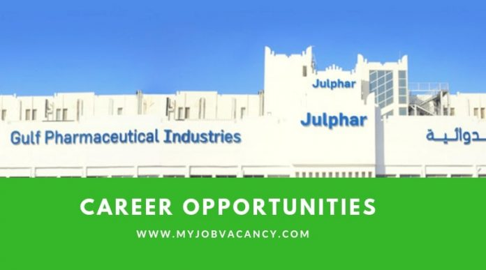 Julphar Latest Job Vacancies