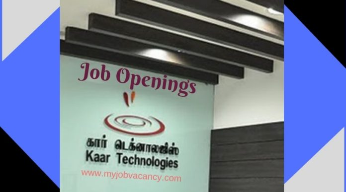 Kaar Technologies Job Vacancies