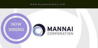 Mannai Corporation Job Vacancies