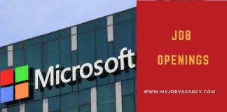 Microsoft Latest Job Vacancies