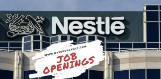 Nestle Latest Job Vacancies