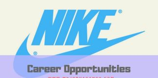 Nike Latest Job Vacancies