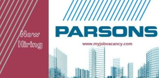 Parsons International Job Vacancies