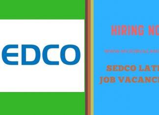Sedco Latest Job Vacancies
