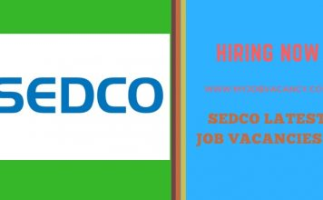 Sedco Latest Job Vacancies
