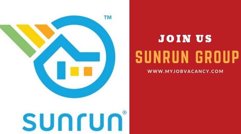 Sunrun Latest Job Openings - Get Sunrun Latest Job Openings